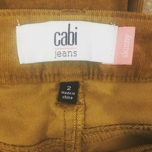 CAbi Pants - Cabi Umber Skinny Cords Style 3197 Corduroy Pants